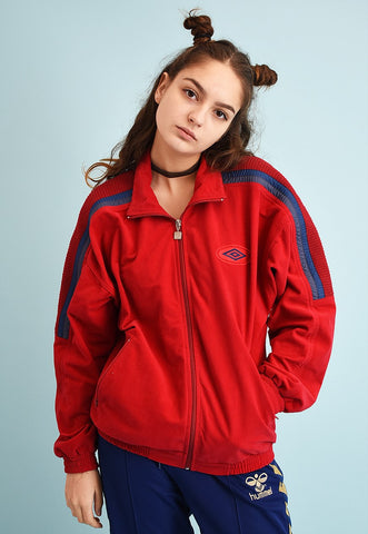 90's retro UMBRO tracksuit sports athleisure jacket