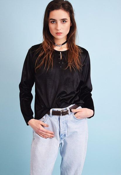 90's retro grunge  oversized top blouse