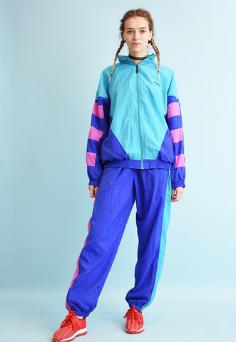 90's retro athleisure tracksuit co-ord two piece