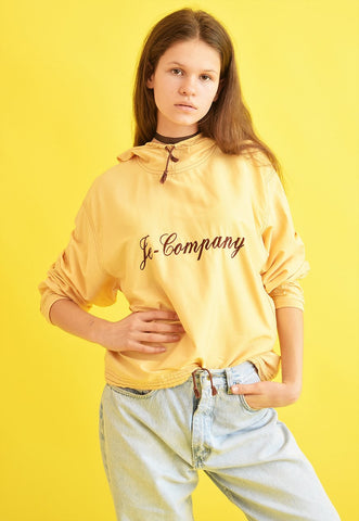 Vintage 90's retro athleisure sports oversized jacket top