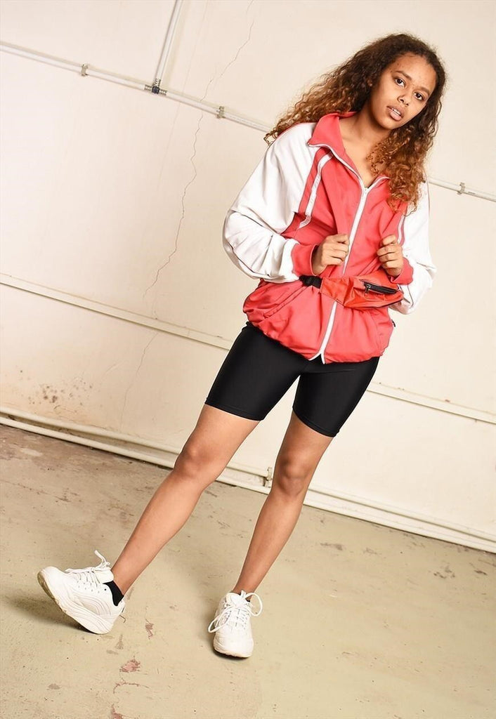 90's retro athleisure festival garm sports jacket
