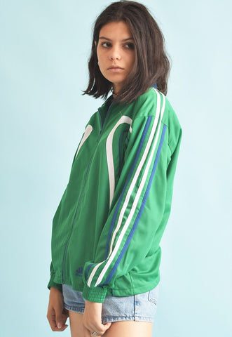 90's retro sports tracksuit jacket top