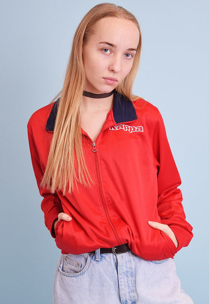 90's retro KAPPA athleisure sports tracksuit jacket