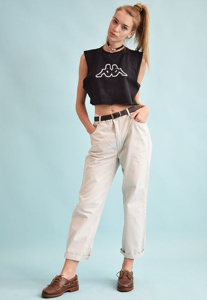 90's retro neutral regular waist straight denim jeans