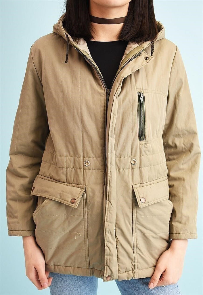 90's retro neutral athleisure jacket parka
