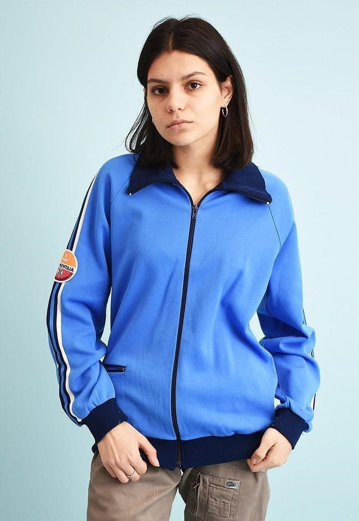 70's retro tracksuit sports athleisure jacket