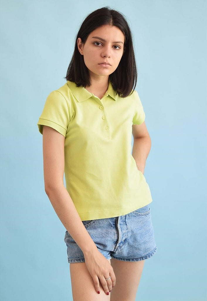 90's retro athleisure sports polo t-shirt tee