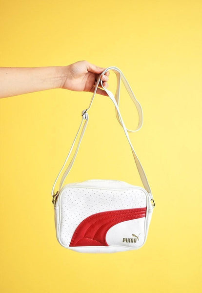 90's retro sports athleisure PUMA shoulder bag