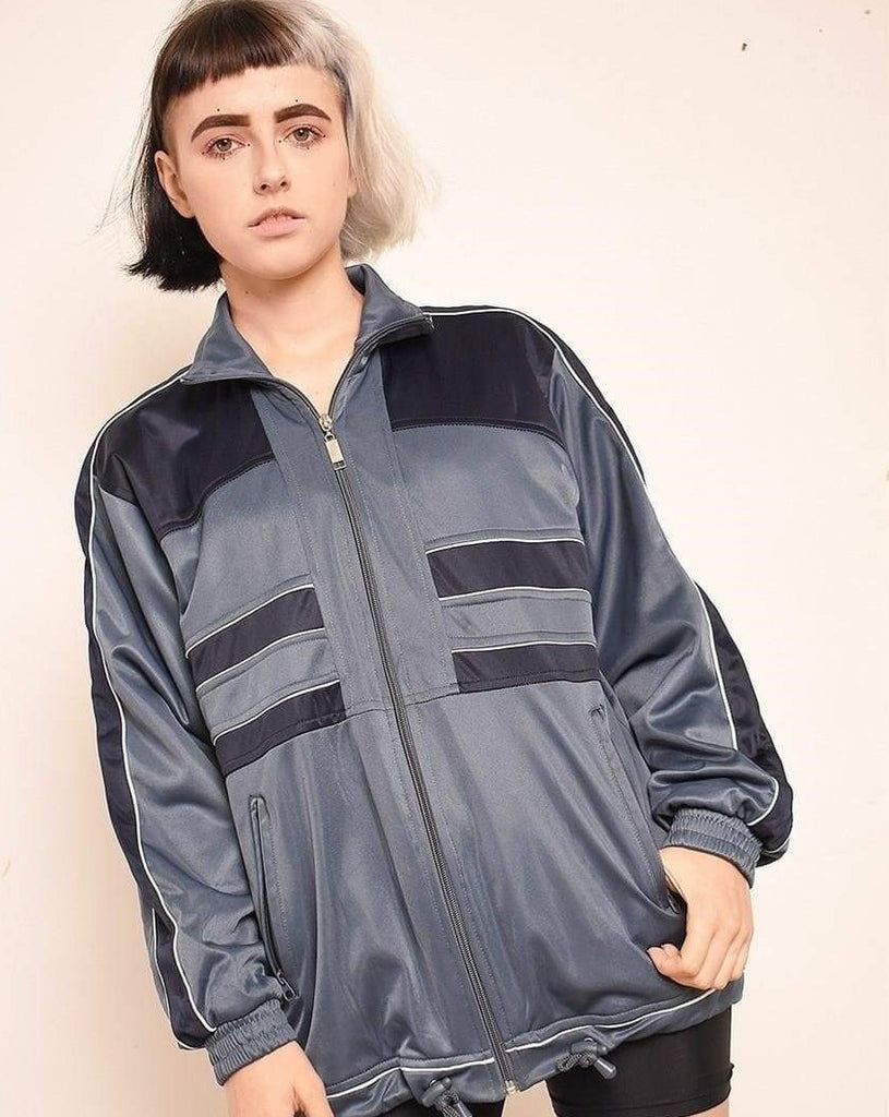 Vintage 90's retro sports tracksuit jacket