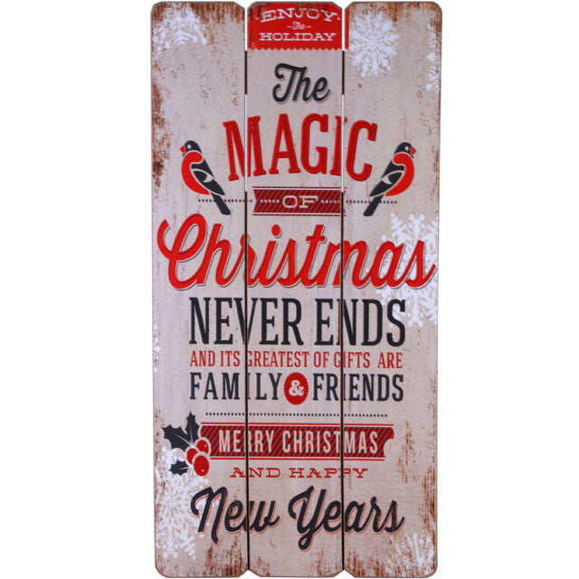 Christmas wall plaque 30 x 60