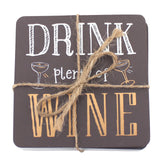 Drink wine coasters - trendy-gifts