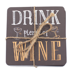 Drink wine coasters