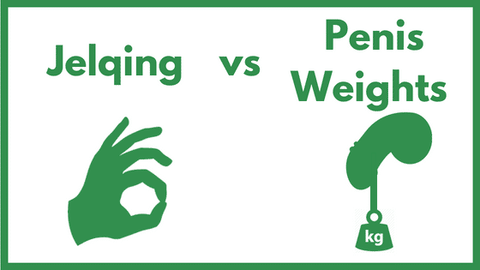 jelqing vs penis weights