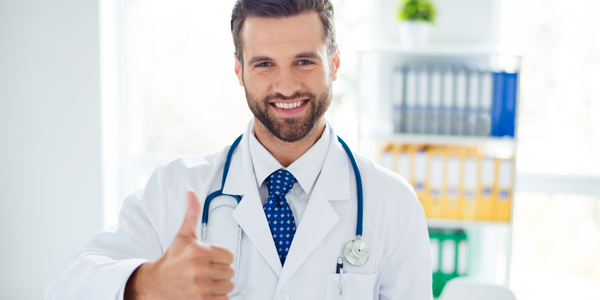 penis enlargement doctor thumbs up