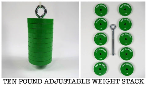 10 Pound Adjustable Penis Hanging Weight Stack