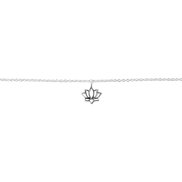 Dainty Lotus Anklet