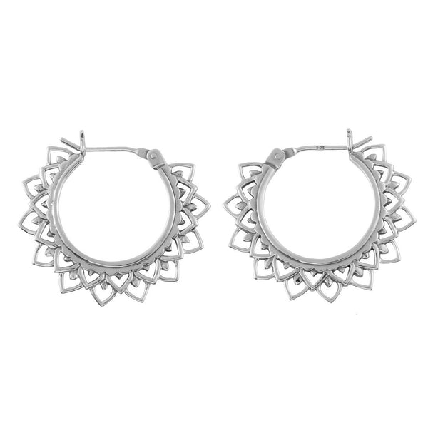 Sol Flare Hoops