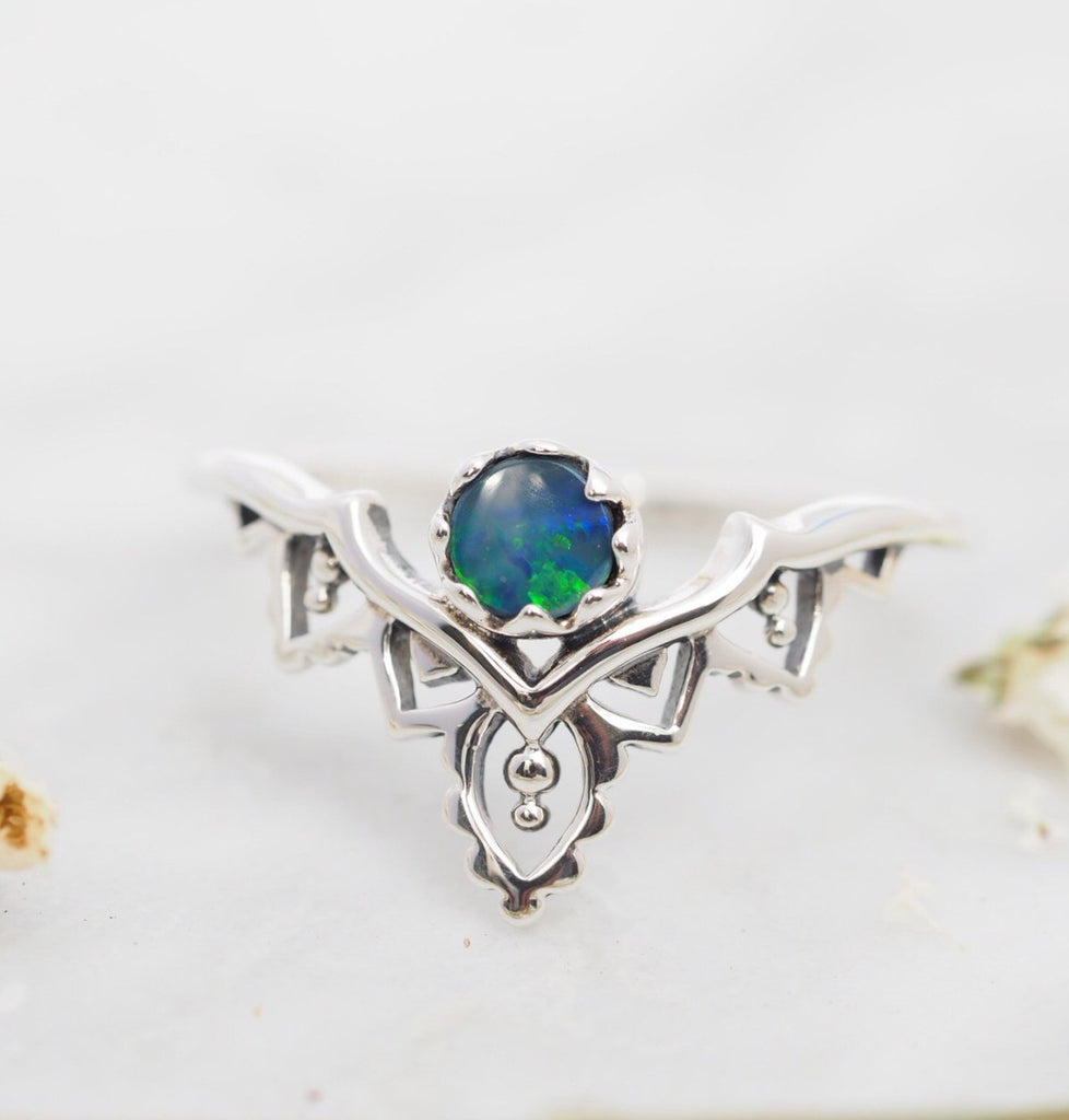 Casablanca Opal Doublet Ring