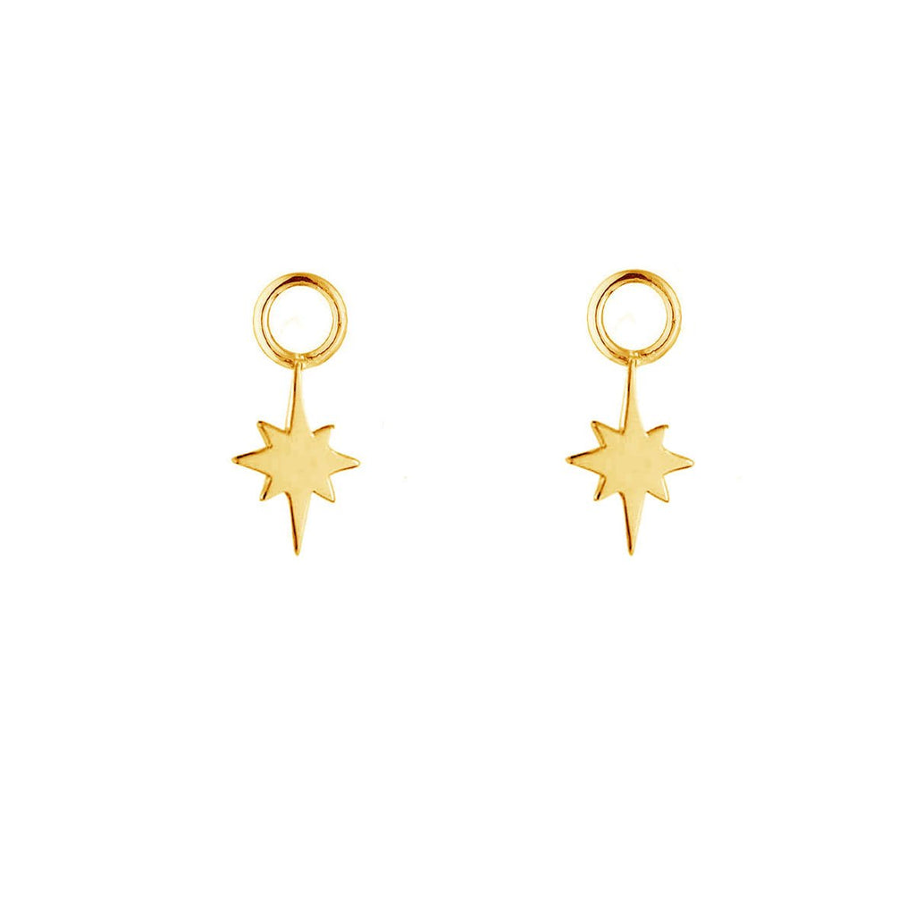Gold Celestial Ear Charms