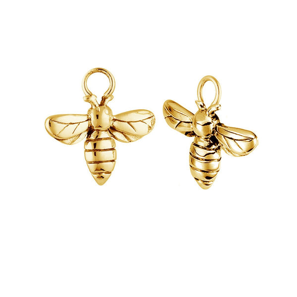 Gold Meant to Bee Ear Charms