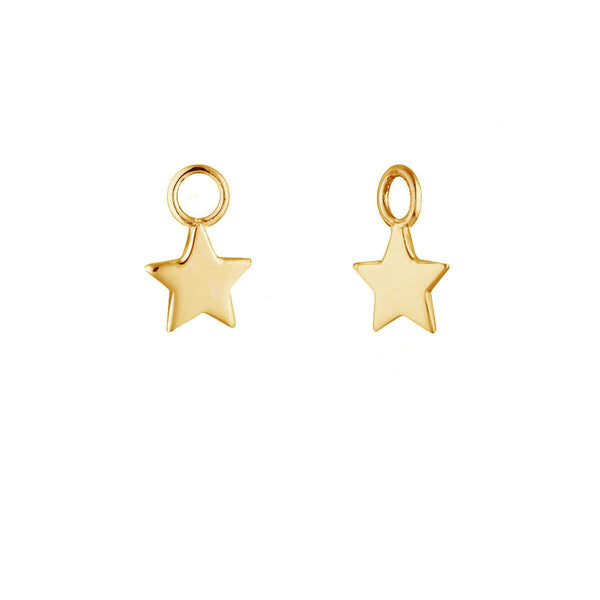 Gold Star Ear Charms