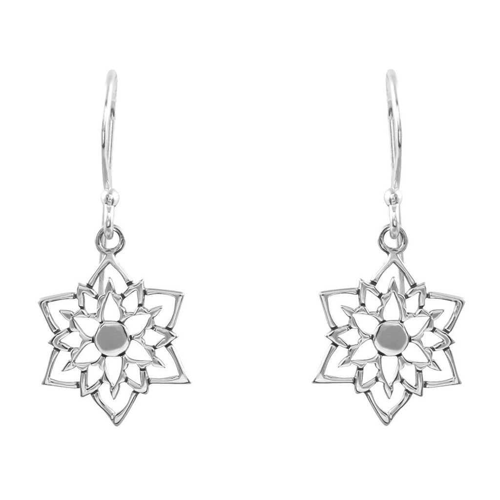 Mandala Star Earrings