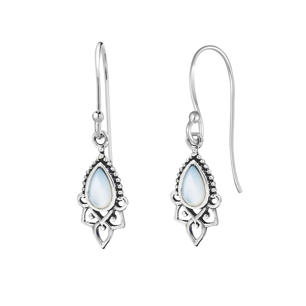 Templar Pearl Drop Earrings