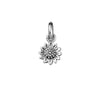 Delicate Sunflower Necklace Charm