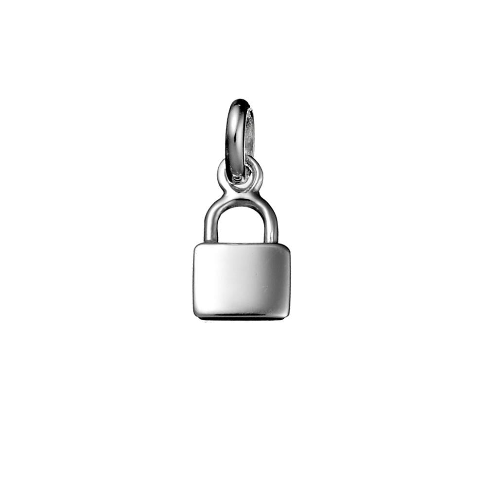 Padlock Necklace Charm