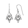 Astra Temple Moonstone Earrings