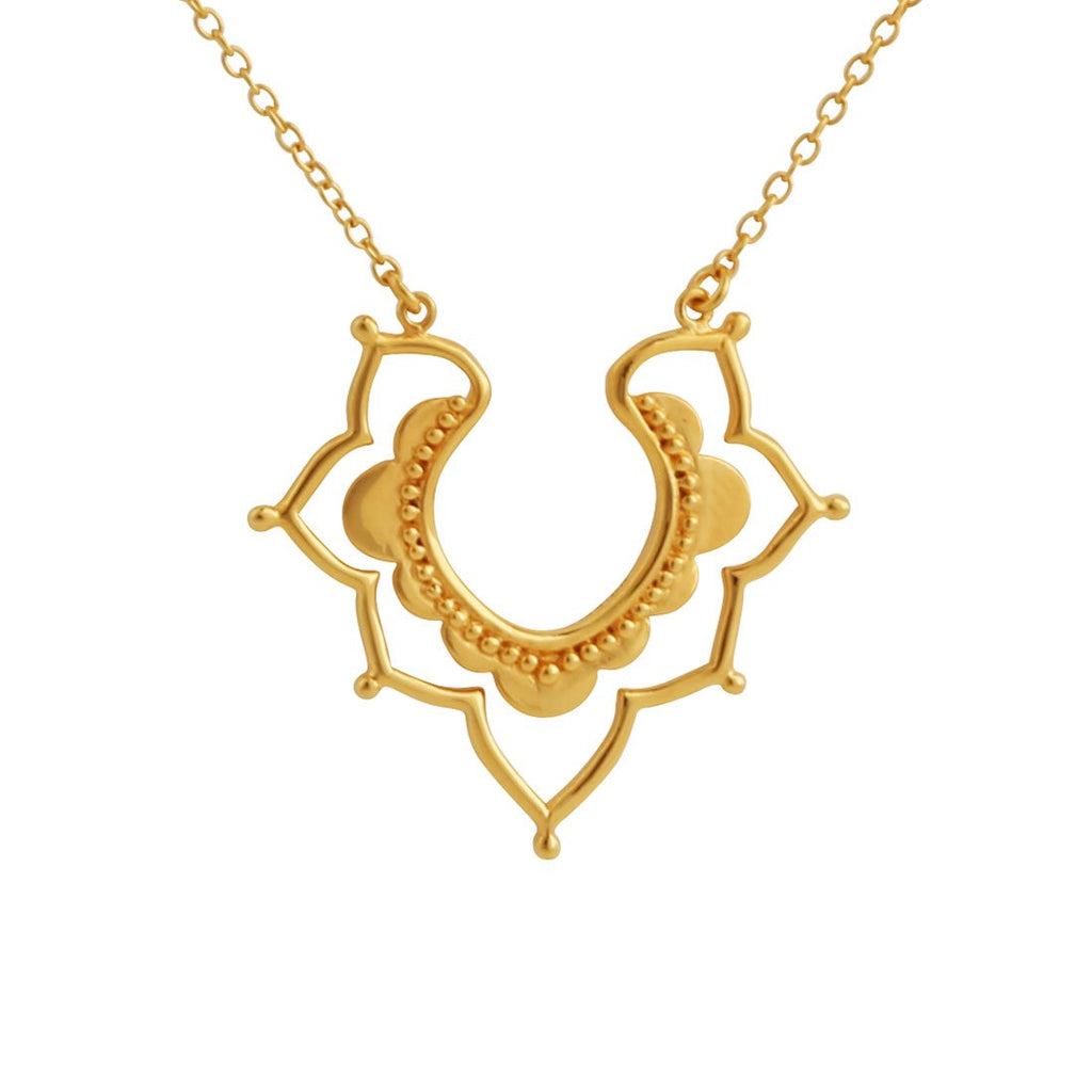 Gold Templum Exotica Necklace