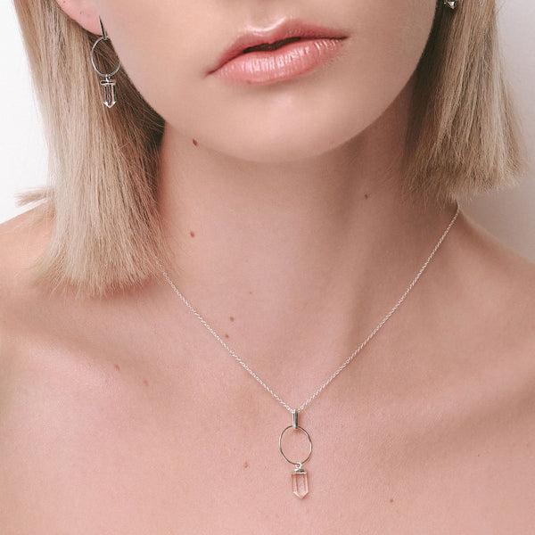 Clarity Effect Crystal Necklace