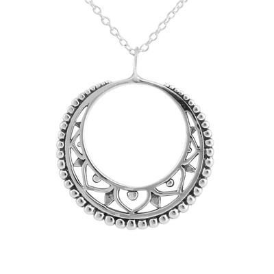 Mandala Disc Necklace