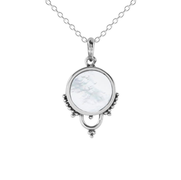 Shimmer Halo Necklace