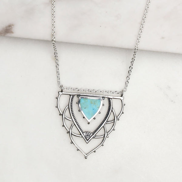 Ancient Archways Turquoise Necklace