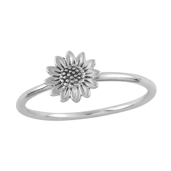Delicate Sunflower Ring