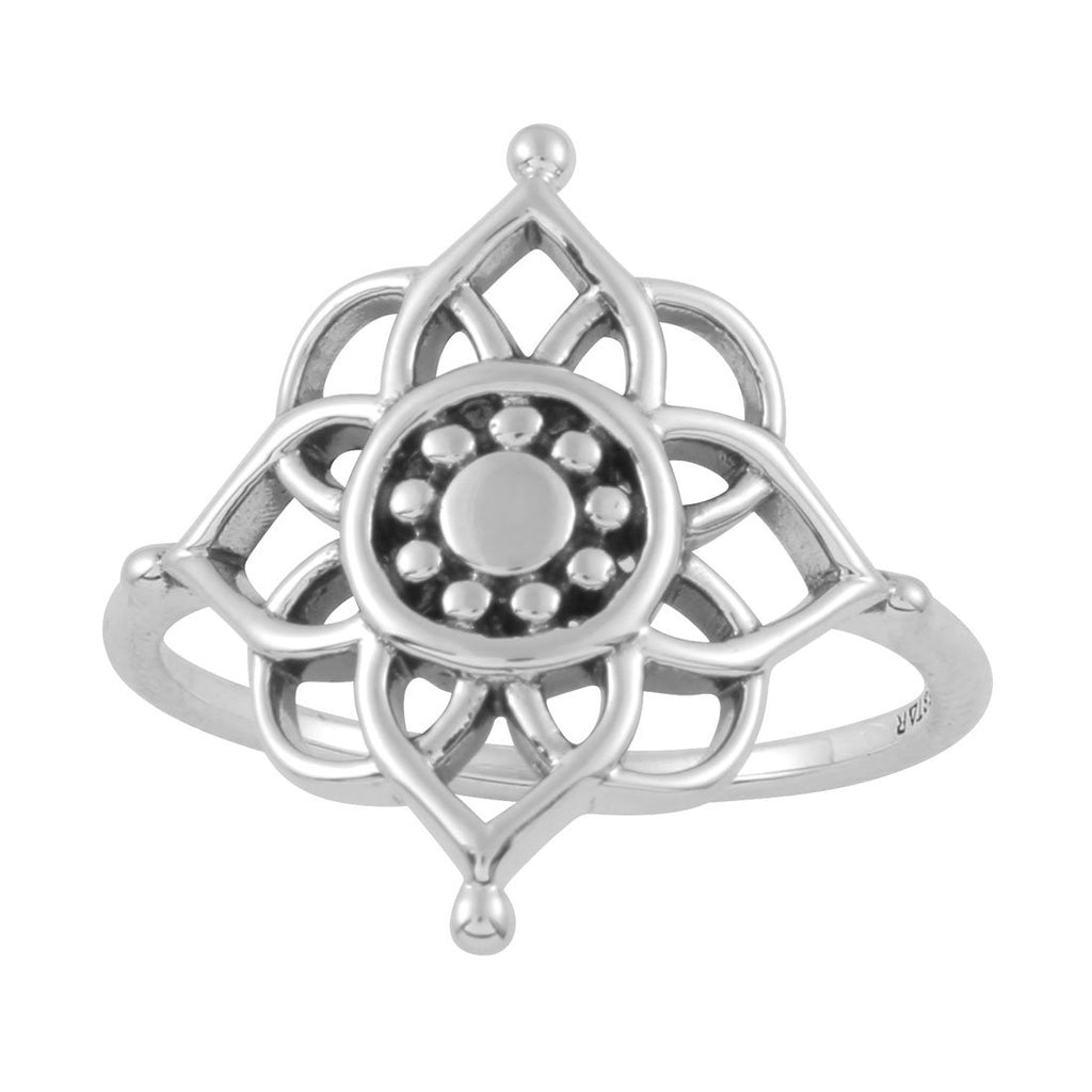 Epic Cosmic Mandala Ring