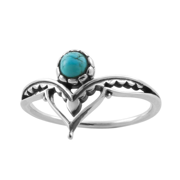 Affirmation Turquoise Ring