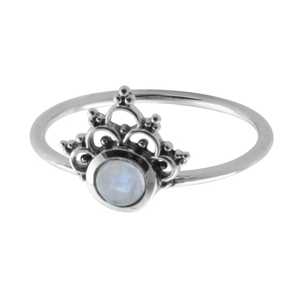 Mystic River Moonstone Ring