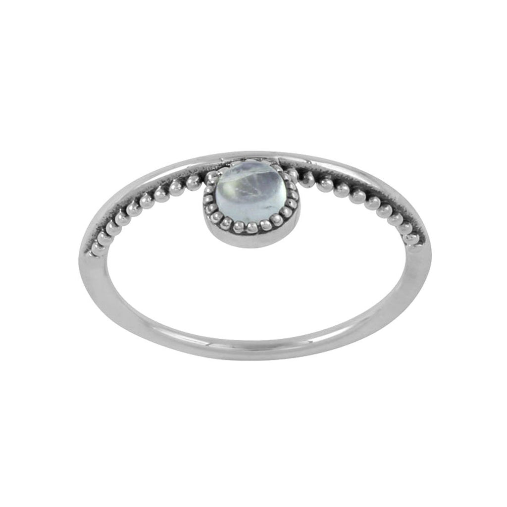Parallel Worlds Moonstone Ring