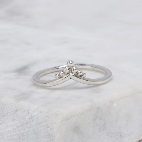 Pavé Adjustable Midi Ring