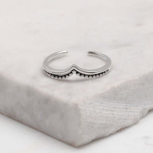 Fine Arch Adjustable Midi Ring