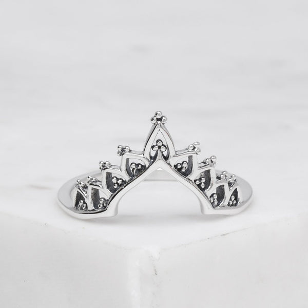 Arcadian Crown Ring