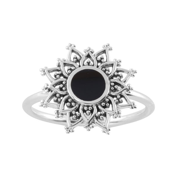 Dark Gravity Onyx Ring