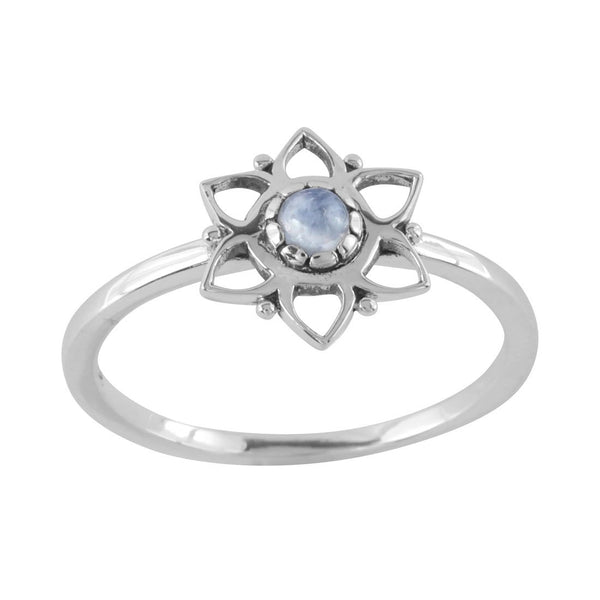 Garden Party Moonstone Ring