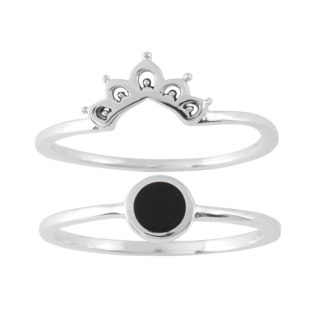 Elixir Onyx Ring Set