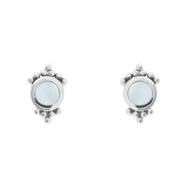 Mirage Pearl Studs