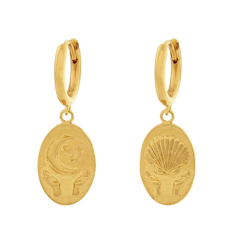 Golden Trust Earrings