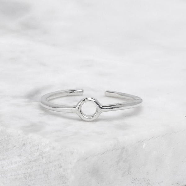 Alumen Adjustable Midi Ring