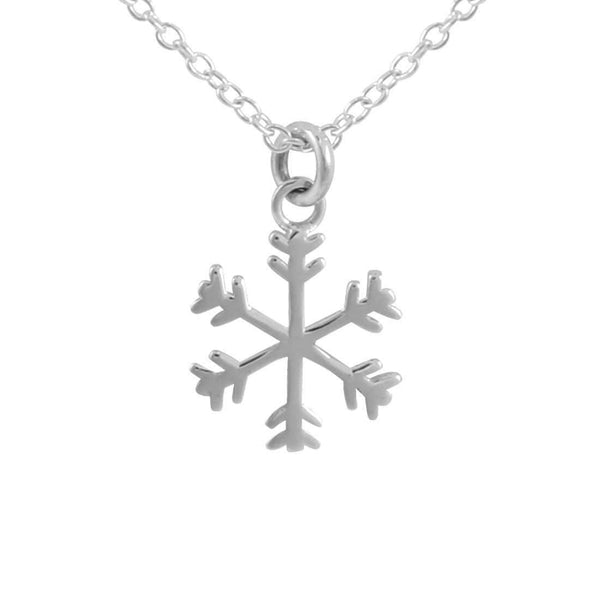Katiyana Snowflake Necklace